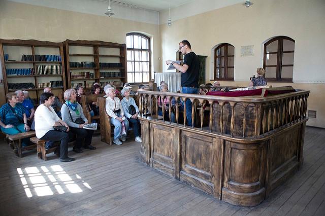 Synagoga i Muzeum Żydowskie w Oświęcimiu, fot. M. Święch (MIK, 2015) ©