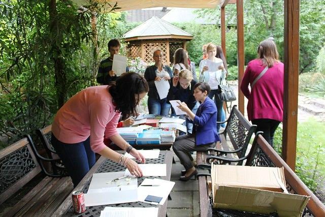 Spotkanie ewaluacyjne wolontariuszy Dni Dziedzictwa 2012, fot. P. Knaś (MIK, 2012) ©