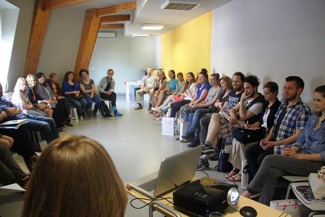 Spotkanie ewaluacyjne wolontariuszy Dni Dziedzictwa 2014, fot. J. Nowostawska-Gyalókay (MIK, 2014) ©