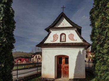 Wieś Kacwin na Spiszu