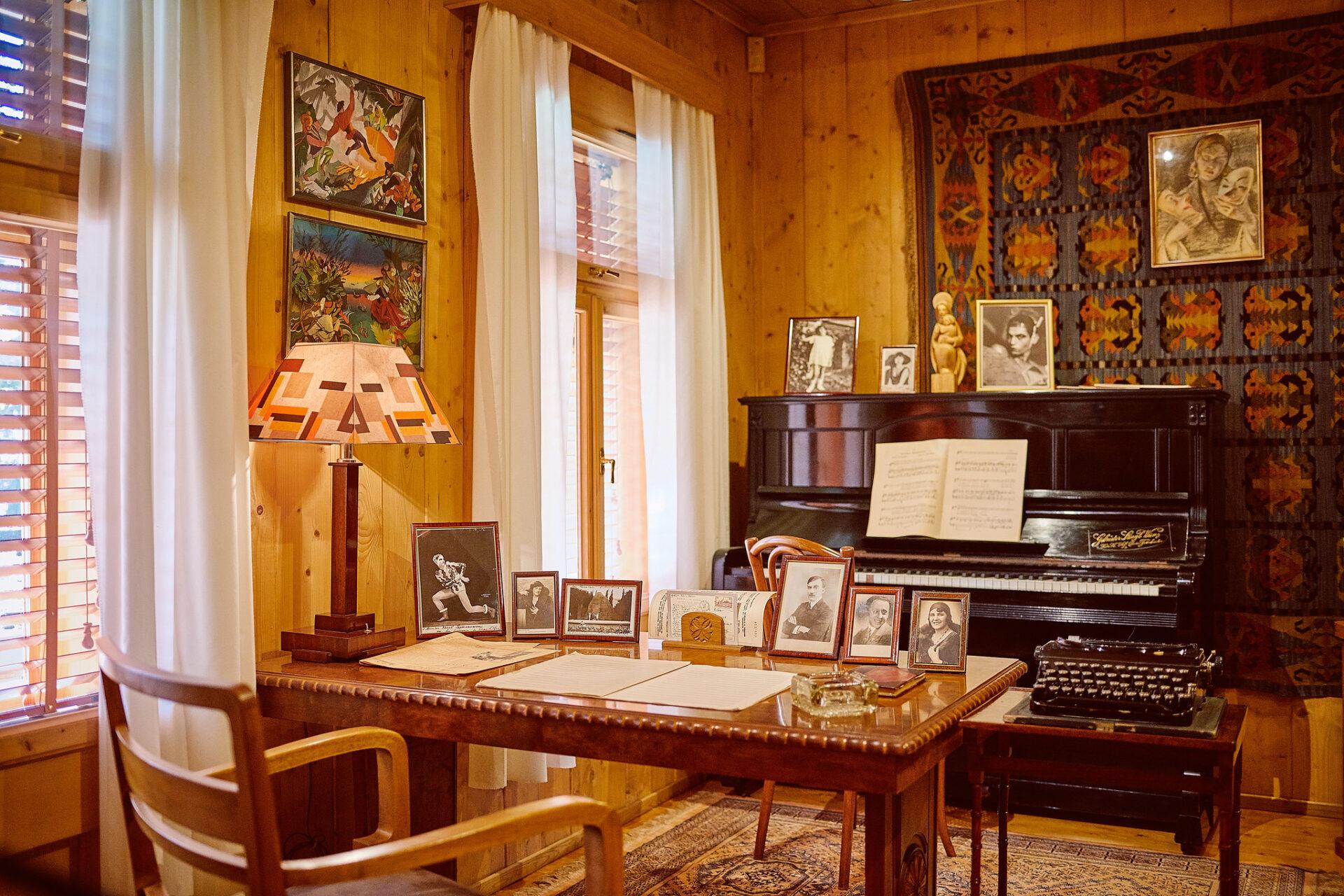 Muzeum Karola Szymanowskiego w willi Atma w Zakopanem, fot. K. Schubert MIK 2019 ©